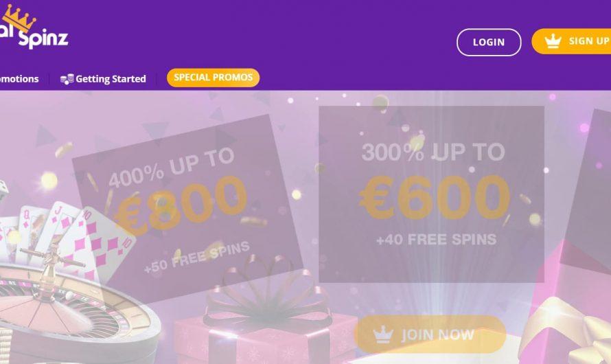 Test Royal Spinz casino : que valent les offres de ce casino ?