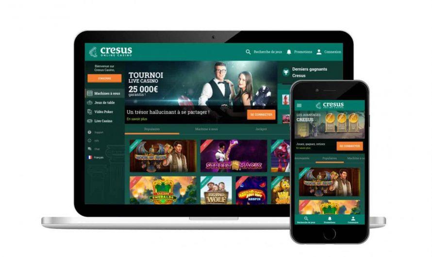 Cresus casino avis : bonus exclusif de 300€ + des free spins !